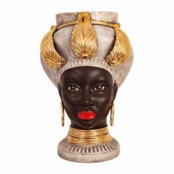 Testa di Moro Donna Egiziana oro small
