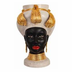Testa di Moro donna Egiziana oro