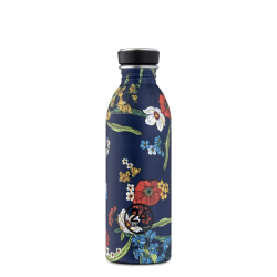 URBAN BOTTLE  DENIM BOUQUET FLORAL