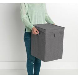 Porta biancheria Box 35L-Pepper Black
