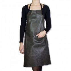 Grembiuli stile barbecue - Pelle vintage Grey