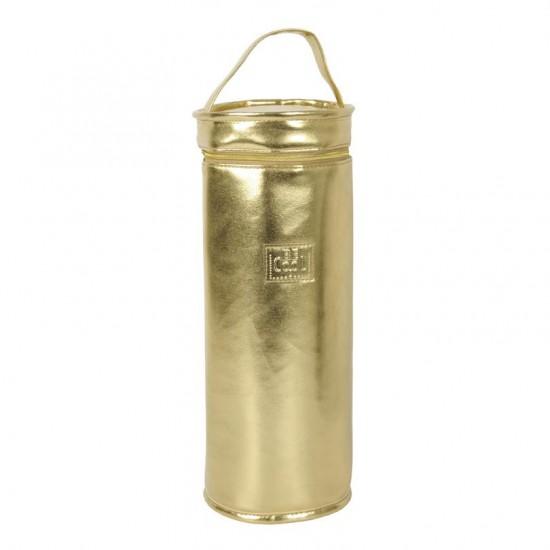 BORSA RAFFREDDA-CHAMPAGNE BE COOL GOLD CHAMPAGNER L 2/ CM Ø13X33