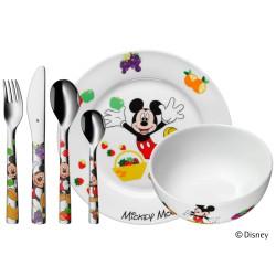 WMF Set 6 pezzi mickey mouse bimbo