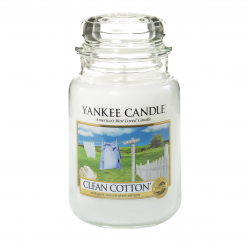 CLASSIC LARGE JAR CLEAN COTTON