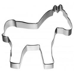 Tagliabiscotti cavallo, banda stagnata, 8,8 cm