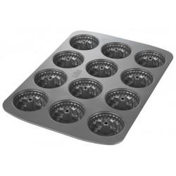 Mini teglia per ciambelline, cottura facile, 12 scomparti, Ø 7 cm