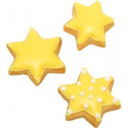 Tagliabiscotti stella, acciaio inox, 5 cm
