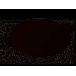 PIZZA STONE LISSE - Ø 37 cm - Fusain