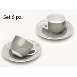 MARSIGLIA SET 6TZ CAFFE' C/P 90CC