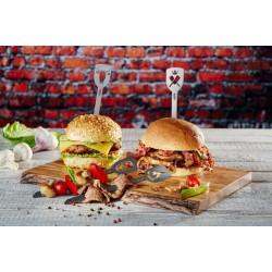 Spiedini per hamburger TORRO, 2 pezzi