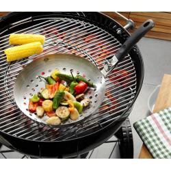 Wok per verdure con manico staccabile BBQ