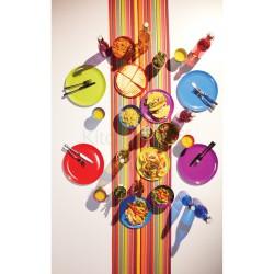 Set 4 Tumblers in Melamine 225ml Colourworks