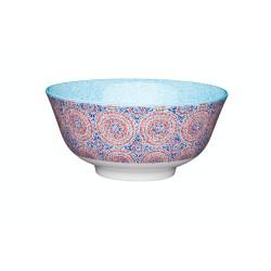 Ciotole in ceramica stile mosaico blu e rosso KitchenCraft