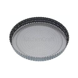 MasterClass Crusty Bake Fluted Round Flan / Quiche Tin, 30x3cm