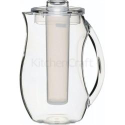 Brocca acrilica con anima e coperchio di ghiaccio, 2,3 litri Kitchencraft