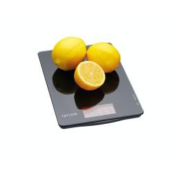 Bilancia da cucina Taylor Pro doppia digitale in vetro nero da 5 kg