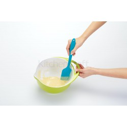 Colourworks Brights 28.5cm Multi-Function Silicone Spatula, Blueberry, Carded