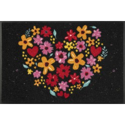 wash+dry Design-Flower Heart-50/75