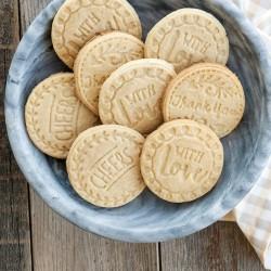 Stampini per biscotti Greetings
