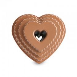 Stampo Bundt Tiered Heart