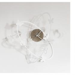 Orologio Multi Butterfly, Bianco - Arti e Mestieri