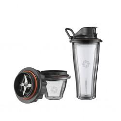 Starter Kit 1 bicchiere 0,6L e 1 ciotola con tappo e gruppo lame